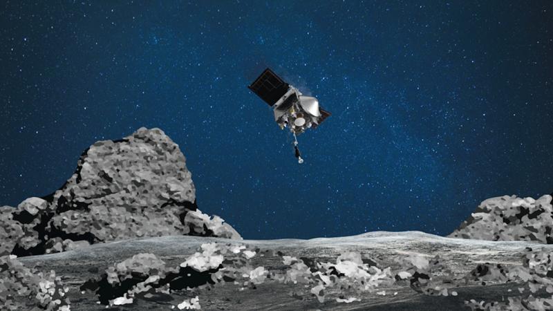 satelite osiris rex curiosidades
