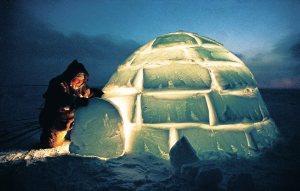 Povos do ártico como vivem
